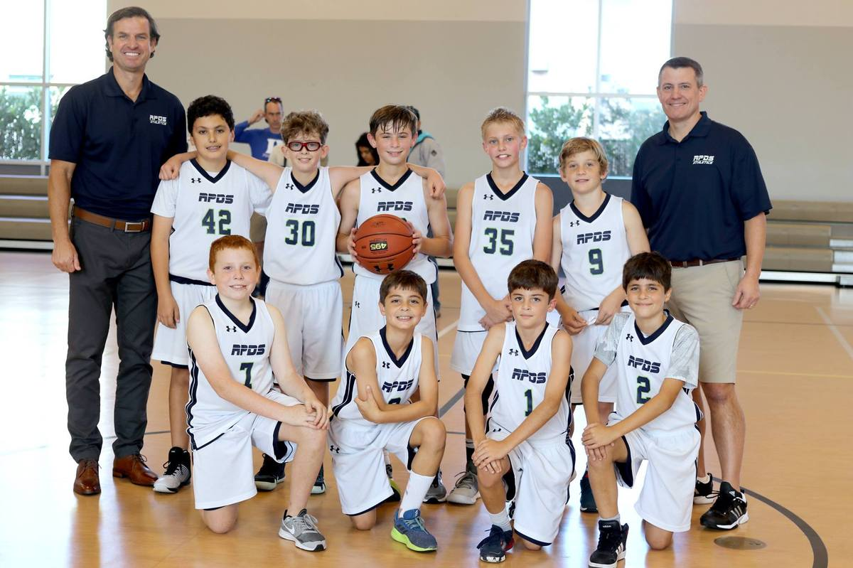 5th & 6th Grade Basketball Teams Win Championship!