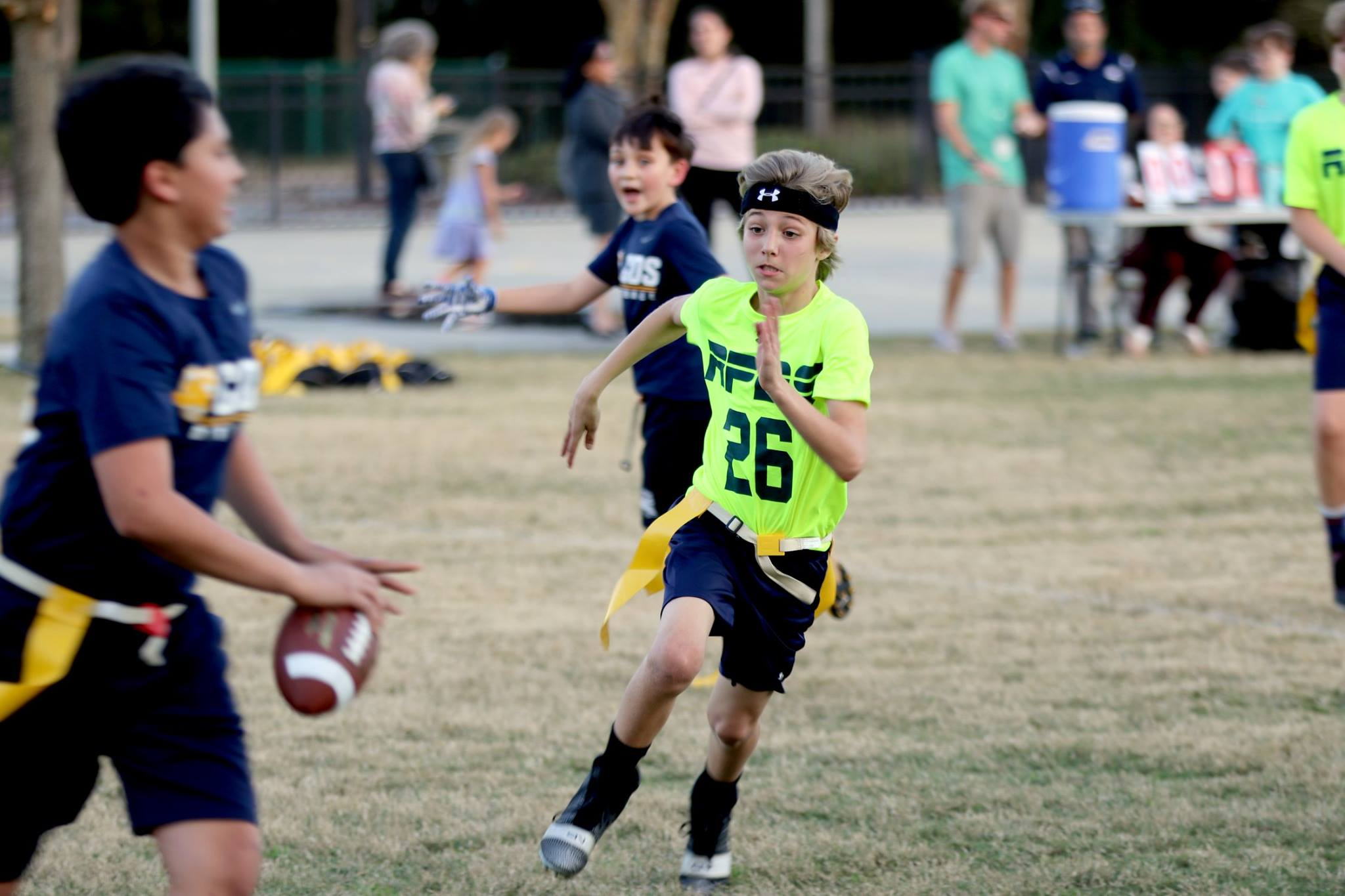RPDS Flag Football Games Roll On!
