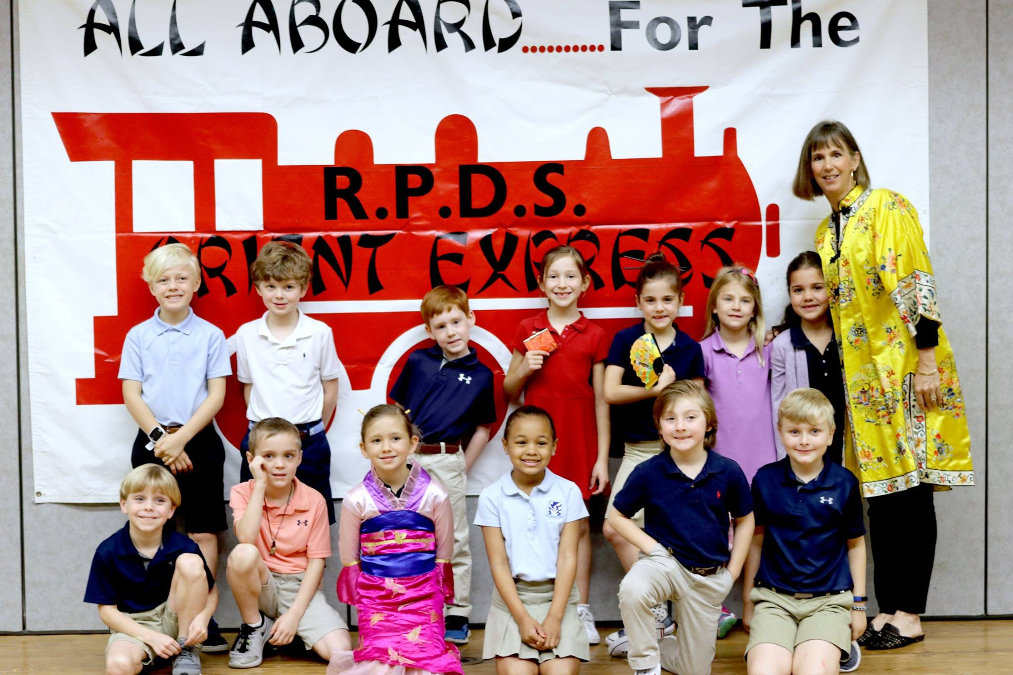 1st Grade Travels to China