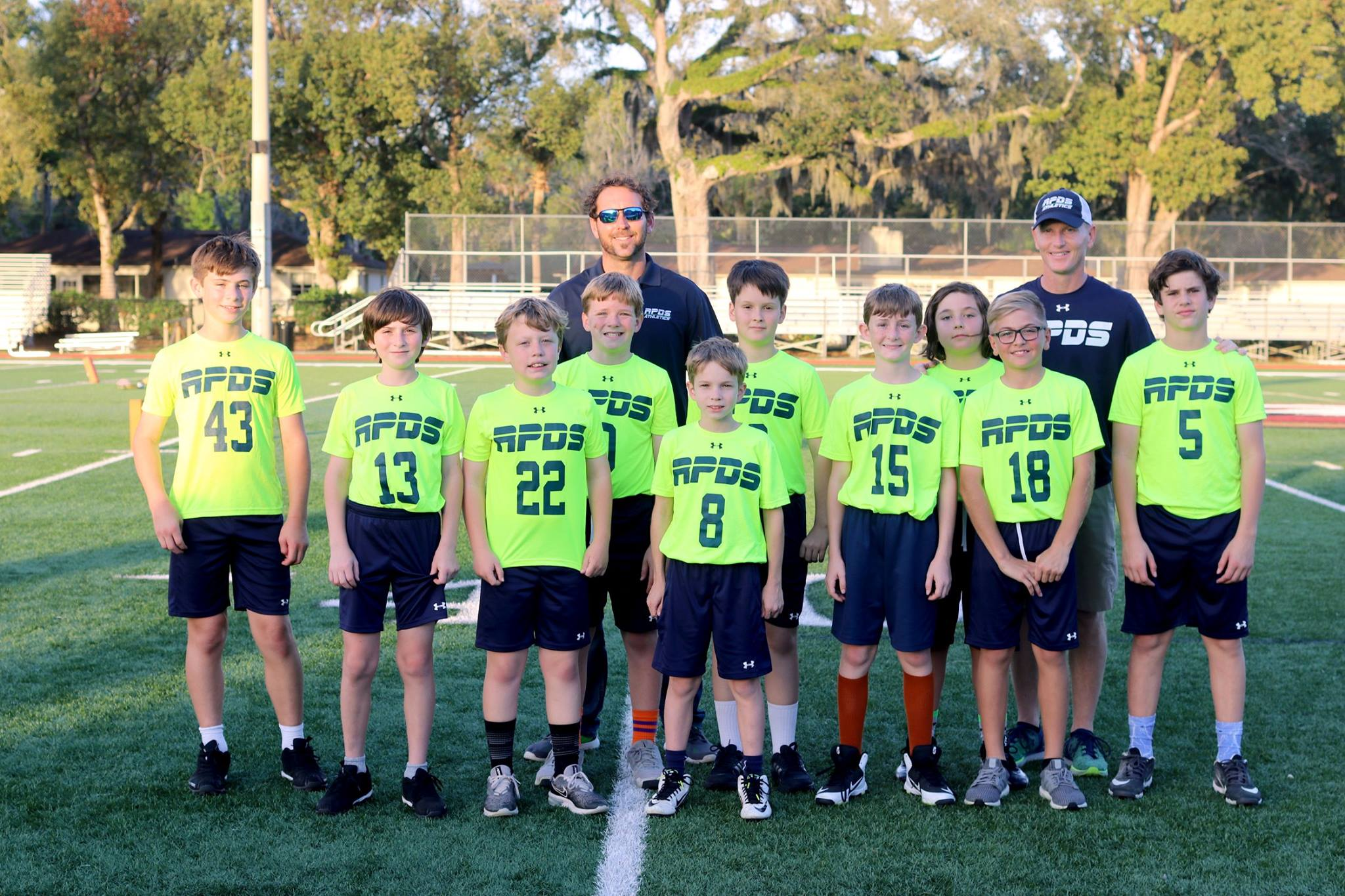 RPDS Flag Football Team Plays in Championship Game