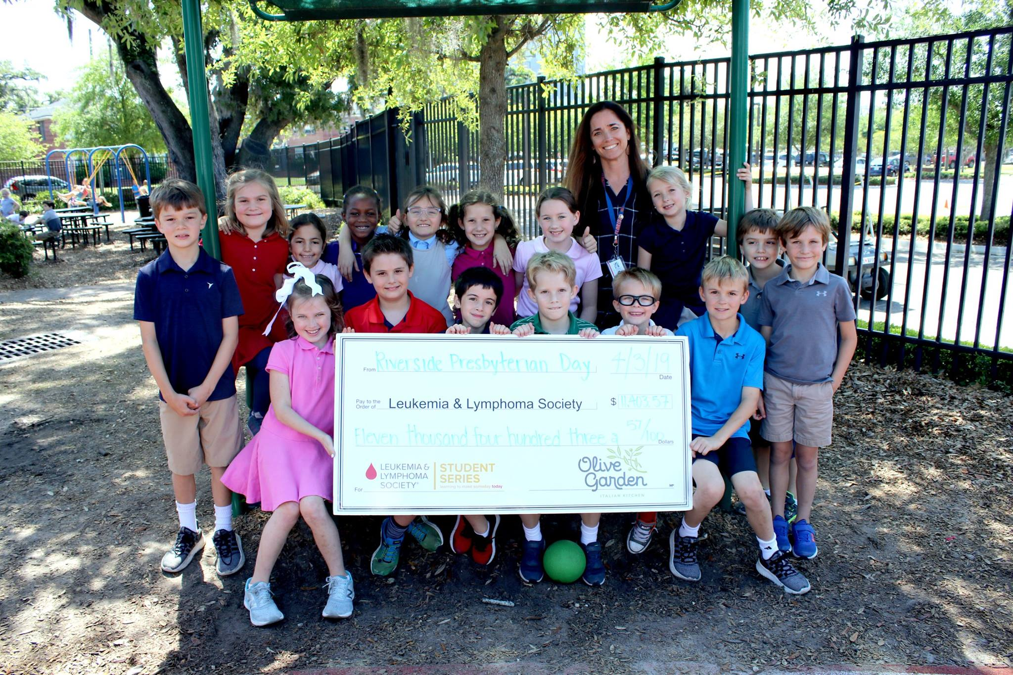 RPDS Collects Over $11k to Benefit Leukemia Society!