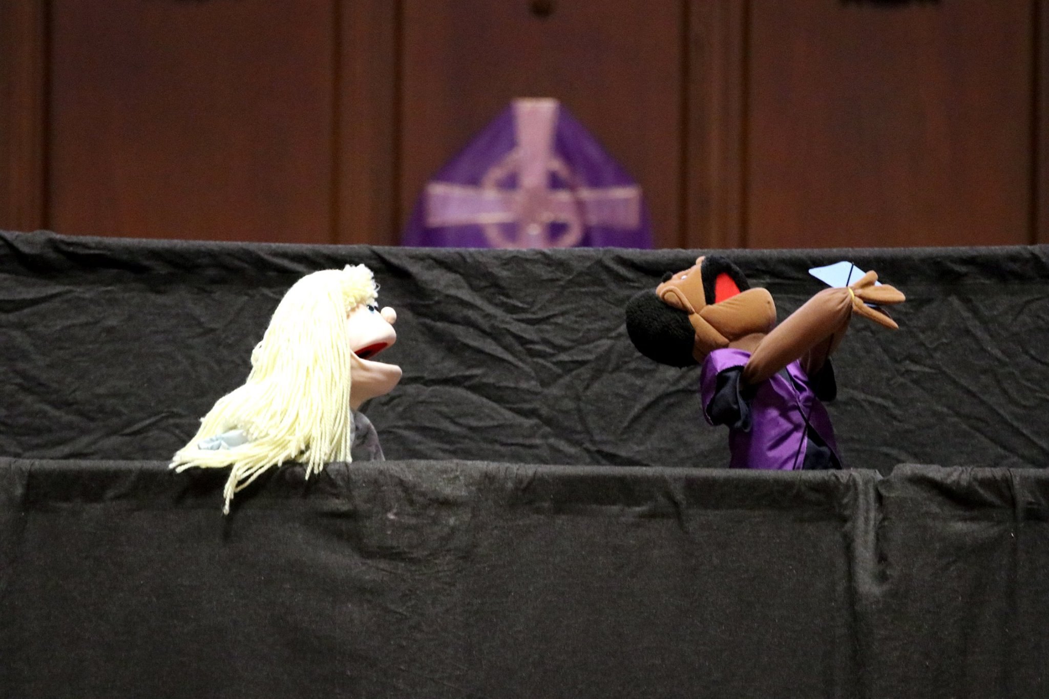 Puppet Club Dazzles During Chapel Performance
