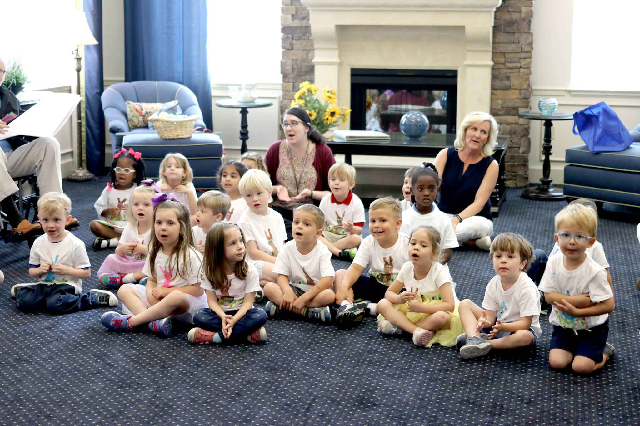 PreK 3 Visits with Residents at The Windsor