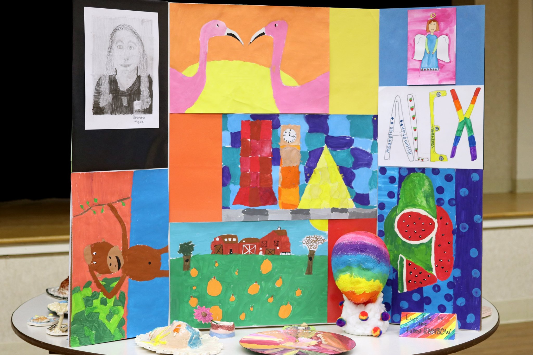 2019 6th Grade Art Exhibit on Display!