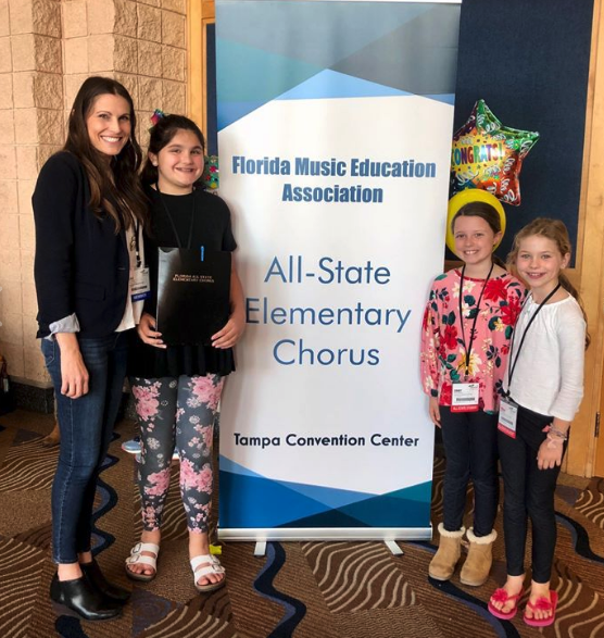 All State Elementary Chorus!