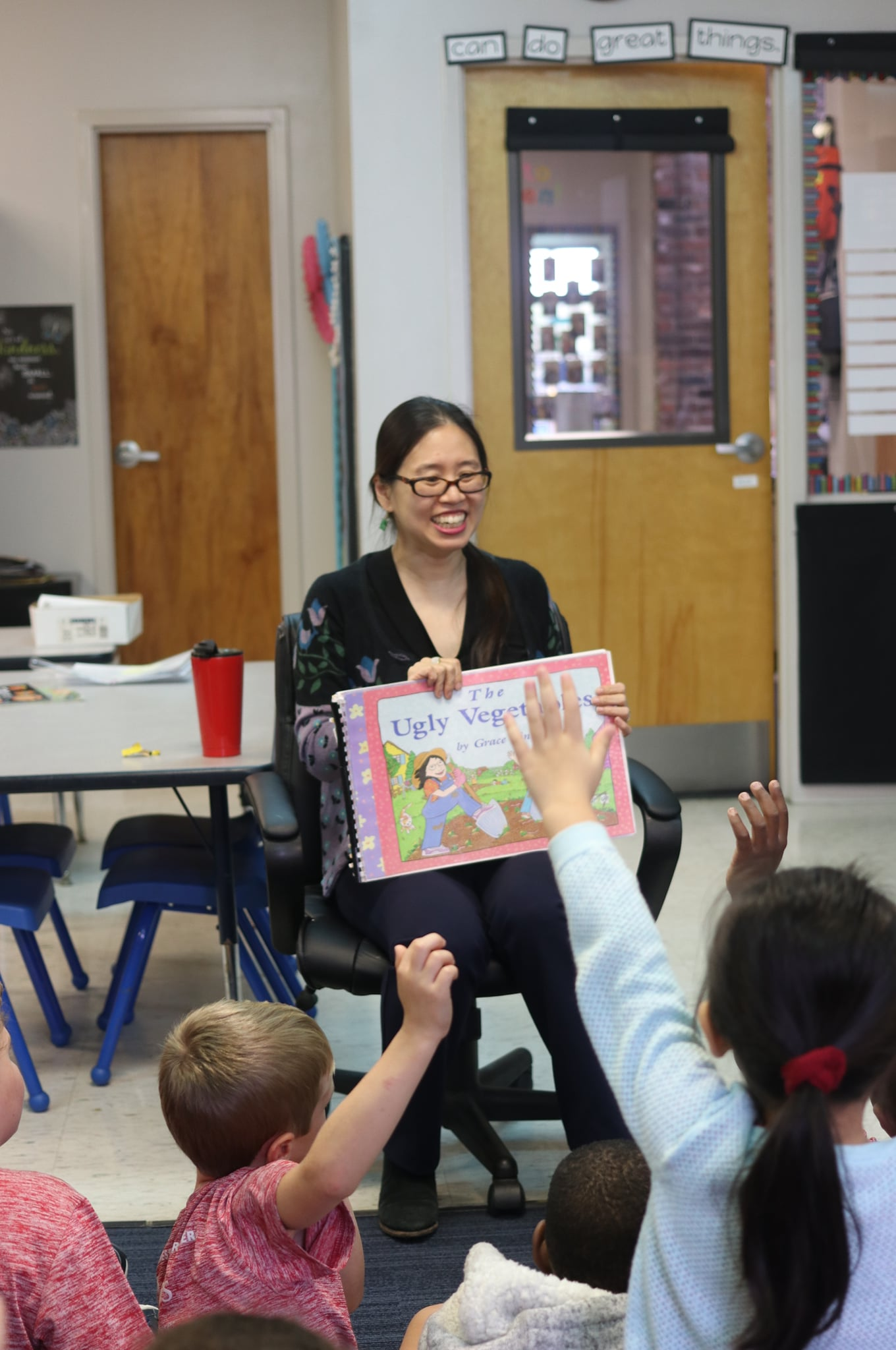 Author Visit by Grace Lin